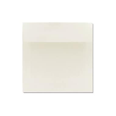 LUX 6 1/2 x 6 1/2 Square 100% Cotton 500/Box, Natural White - 100% Cotton (8535-SN-500)