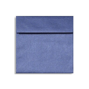 LUX 6 1/2 x 6 1/2 Square Envelopes 1000/Box) 1000/Box, Sapphire Metallic (8535-18-1000)