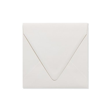 LUX 6 1/2 x 6 1/2 Square Contour Flap Envelopes 250/Box, Natural - 100% Recycled (1855-NPC-250)