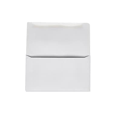 LUX Moistenable Glue 6 1/4 Remittance Envelopes (3 1/2 x 6 Closed) 50/Pack, 24lb. Bright White (17871-50)