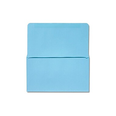 LUX Moistenable Glue 6 1/4 Remittance Envelopes (3 1/2 x 6 Closed) 500/Pack, Pastel Blue (R256-500)
