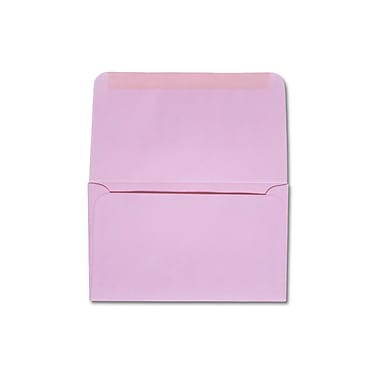 LUX 6 1/4 Remittance Envelopes (3 1/2 x 6 Closed) 500/box, Pastel Pink (R254-500)