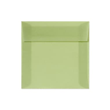LUX® 6in. x 9in. Booklet Envelopes, Leaf Green Translucent, 250/Pack