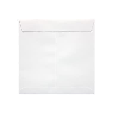LUX 8 x 8 Square Envelopes 50/Box, 70lb. White (10969-50)