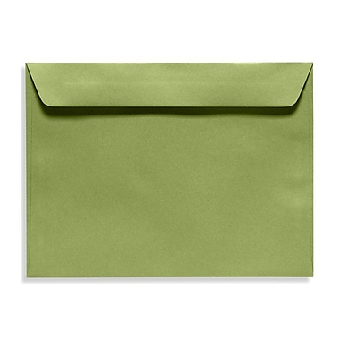 LUX 9 x 12 Booklet Envelopes 50/Box, Avocado (EX4899-27-50)