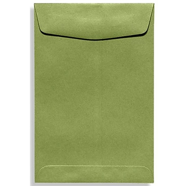LUX 9 x 12 Open End Envelopes 500/Box, Avocado (EX4894-27-500)