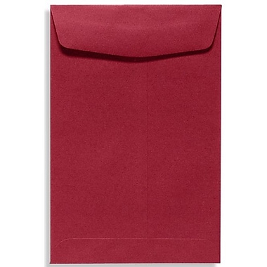 LUX 9 x 12 Open End Envelopes 500/Box, Garnet (EX4894-26-500)