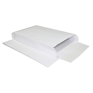 LUX® 9in. x 12in. x 4in. 40lbs. Expansion Envelopes, White Kraft, 250/Pack