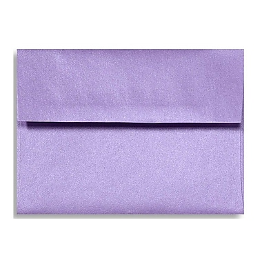 LUX A1 Invitation Envelopes (3 5/8 x 5 1/8) 250/Box, Amethyst Metallic (5365-17-250)