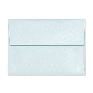 LUX A9 Invitation Envelopes (5 3/4 x 8 3/4) 50/Box, Aquamarine Metallic (5395-02-50)