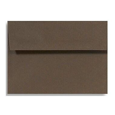 LUX A1 Invitation Envelopes (3 5/8 x 5 1/8) 1000/Box, Chocolate (EX4865-17-1000)