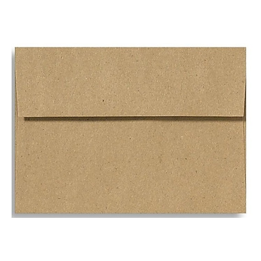 LUX A1 Invitation Envelopes (3 5/8 x 5 1/8) 500/Box, Grocery Bag (4865-GB-500)