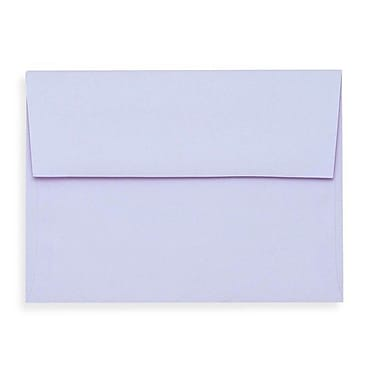 LUX A1 Invitation Envelopes (3 5/8 x 5 1/8) 1000/Box, Lilac (SH4265-05-1000)