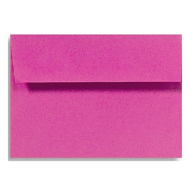 LUX A1 Invitation Envelopes (3 5/8 x 5 1/8) 500/Box, Magenta (EX4865-10-500)