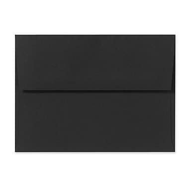 LUX A1 Invitation Envelopes (3 5/8 x 5 1/8) 50/Box, Midnight Black (F-4565-B-50)
