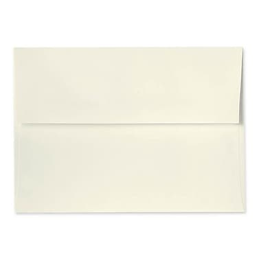 LUX A1 Invitation Envelopes (3 5/8 x 5 1/8) 50/Box, Natural - 100% Recycled (4865-NPC-50)