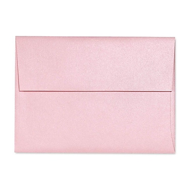 LUX A9 Invitation Envelopes (5 3/4 x 8 3/4) 50/Box, Rose Quartz Metallic (5395-04-50)