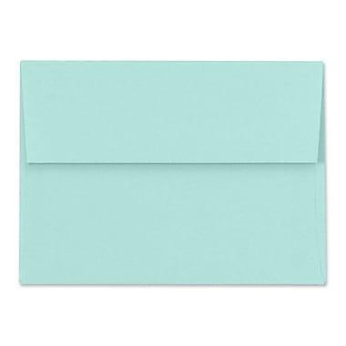 LUX A1 Invitation Envelopes (3 5/8 x 5 1/8) 500/Box, Seafoam (LUX-4865-113500)