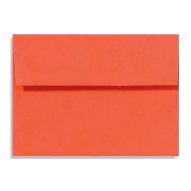 LUX A1 Invitation Envelopes (3 5/8 x 5 1/8) 250/Box, Tangerine (LUX-4865-112250)