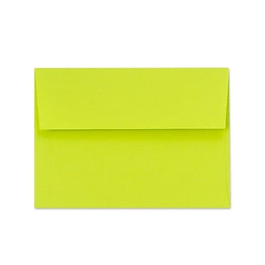 LUX A1 Invitation Envelopes (3 5/8 x 5 1/8) 1000/Box, Wasabi (FE4865-22-1000)
