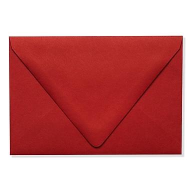 LUX A4 Contour Flap Envelopes (4 1/4 x 6 1/4) 250/Box, Ruby Red (EX-1872-18-500)