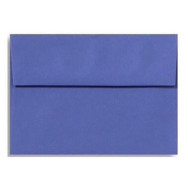 LUX A4 Invitation Envelopes (4 1/4 x 6 1/4) 50/Box, Boardwalk Blue (LUX-4872-23-50)