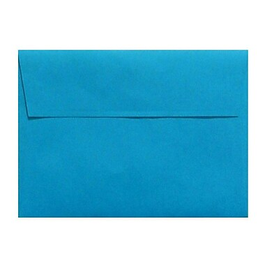 LUX A4 Invitation Envelopes (4 1/4 x 6 1/4) 50/Box, Pool (LUX-4872-102-50)