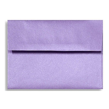 LUX A6 Invitation Envelopes (4 3/4 x 6 1/2) 500/Box, Amethyst Metallic (5375-17-500)