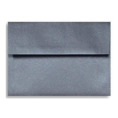 LUX A6 Invitation Envelopes (4 3/4 x 6 1/2) 250/Box, Anthracite Metallic (5375-15-250)