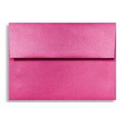 "LUX® 80lbs. 4 3/4"" x 6 1/2"" A6 Invitation Envelopes W/Glue, Azalea Metallic Pink, 1000/BX"