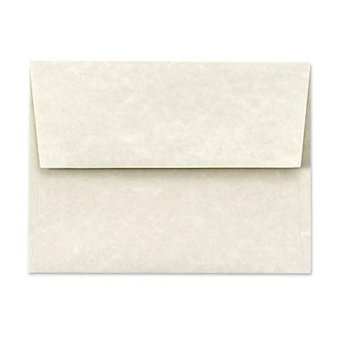 LUX A6 Invitation Envelopes (4 3/4 x 6 1/2) 50/Box, Cream Parchment (6675-11-50)