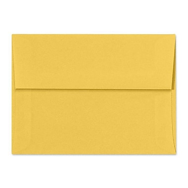 LUX A6 Invitation Envelopes (4 3/4 x 6 1/2) 1000/Box, Goldenrod (SH4275-08-1000)
