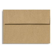LUX A6 Invitation Envelopes (4 3/4 x 6 1/2) 50/Box, Grocery Bag (4875-GB-50)