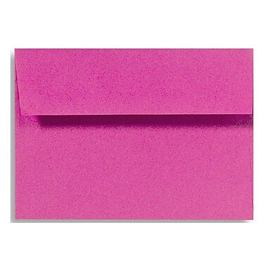 LUX A6 Invitation Envelopes (4 3/4 x 6 1/2) 250/Box, Magenta (EX4875-10-250)