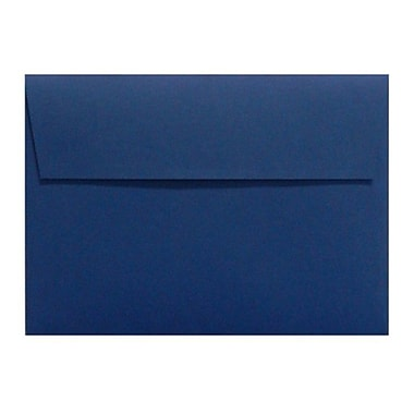 LUX A6 Invitation Envelopes (4 3/4 x 6 1/2) 50/Box, Navy (LUX-4875-103-50)