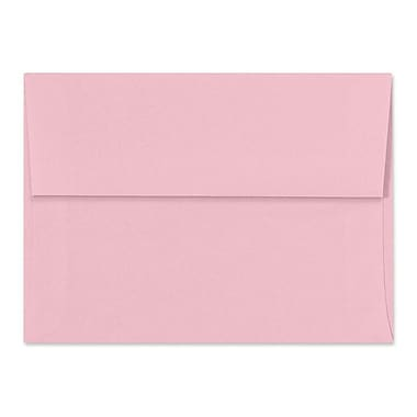 LUX A6 Invitation Envelopes (4 3/4 x 6 1/2) 500/Box, Pastel Pink (SH4275-06-500)