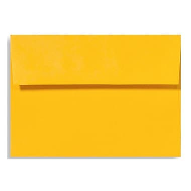 LUX A6 Invitation Envelopes (4 3/4 x 6 1/2) 500/Box, Sunflower (EX4875-12-500)