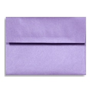 "LUX® 5 1/4"" x 7 1/4"" 80lbs. Square Flap Envelopes W/Peel & Press"