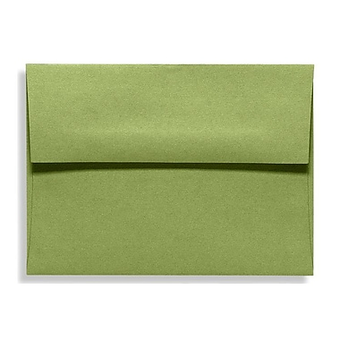 LUX A7 Invitation Envelopes (5 1/4 x 7 1/4) 500/Box, Avocado (EX4880-27-500)