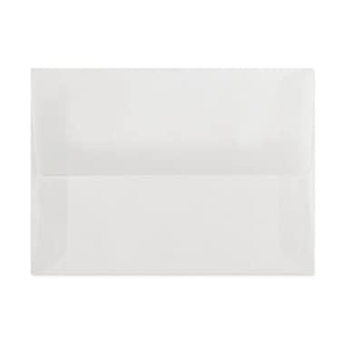 LUX A7 Invitation Envelopes (5 1/4 x 7 1/4) 1000/Box, Clear Translucent (4880-00-1000)