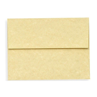 LUX A7 Invitation Envelopes (5 1/4 x 7 1/4) 1000/Box, Gold Parchment (6680-14-1000)