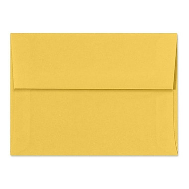 LUX A7 Invitation Envelopes (5 1/4 x 7 1/4) 500/Box, Goldenrod (SH4280-08-500)