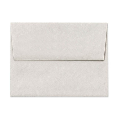 LUX A7 Invitation Envelopes (5 1/4 x 7 1/4) 250/Box, Gray Parchment (6680-13-250)