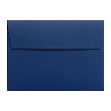 LUX A7 Invitation Envelopes (5 1/4 x 7 1/4) 1000/Box, Navy (LUX-4880-103-10)