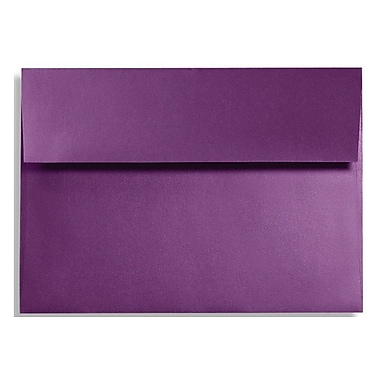 LUX A7 Invitation Envelopes (5 1/4 x 7 1/4) 250/Box, Purple Power (FA4880-06-250)