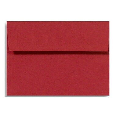 LUX A7 Invitation Envelopes (5 1/4 x 7 1/4) 500/Box, Ruby Red (EX4880-18-500)
