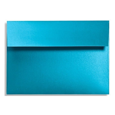 LUX A7 Invitation Envelopes (5 1/4 x 7 1/4) 500/Box, Trendy Teal (FA4880-07-500)
