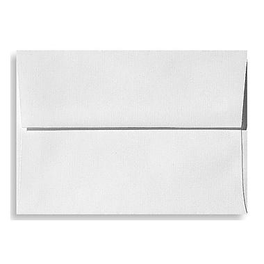 LUX A7 Invitation Envelopes (5 1/4 x 7 1/4) 250/Box, White Linen (4880-WLI-250)