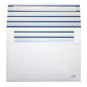 LUX® 70lbs. 5 1/4 x 7 1/4 Square Flap Envelopes W/Peel & Press, Sea Stripes, 250/BX