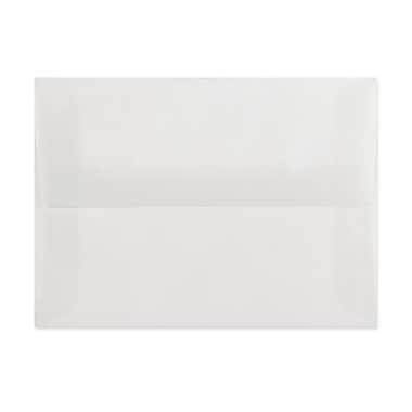 LUX A8 Invitation Envelopes (5 1/2 x 8 1/8) 250/Box, Clear Translucent (4885-00-250)